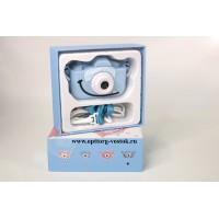 "Детская камера Children's fun Camera Cute Kitty ""Голубой монстрик"""