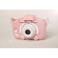 "Детская камера Children's fun Camera Cute Kitty ""Розовый котёнок"""