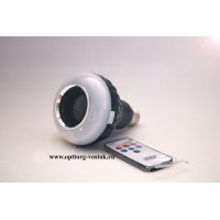 Умная светодиодная лампа Led Bluetooth speaker bulb with lightning