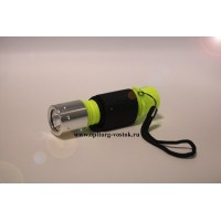 Портативный светодиодный наручный фонарь для дайвинга X-01