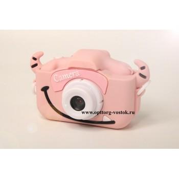 "Детская камера Children's fun Camera Cute Kitty ""Розовый монстрик"""