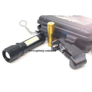 Светодиодный карманный мини фонарик 187