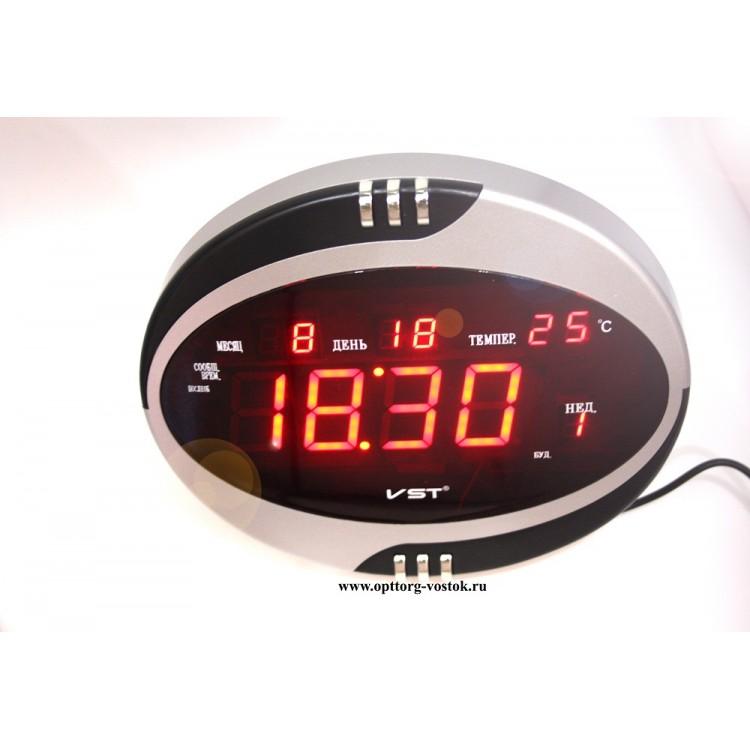 как настроить электронные часы Vst
